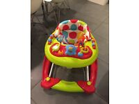 Red Kite 3 in 1 baby walker - like new - only two weeks old Rrp £50 from Argos