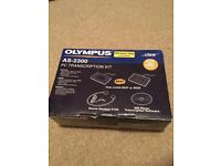 Olympus DS-2300 Digital Voice Recorder & Olympus RS-28 Foot Switch