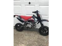 Road legal pit crf supermoto