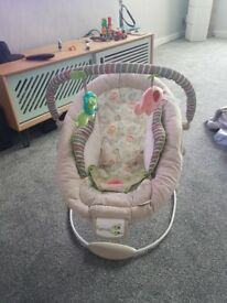Ingenuity baby vibrating/song chair