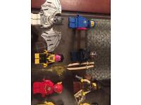 Lego Star Wars and minifigures