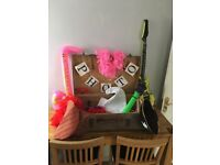 Vintage Suitcase Full Of Wedding Photo Booth Fancy Dress Props