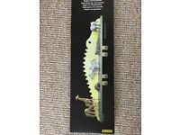 Crocodile Shelf with Hooks