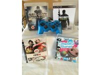 Ps3 controller and 4 games