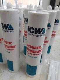 JCW acoustic intumescent acrylic sealant