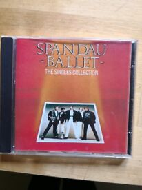 Spandau Ballet greatest hits CDs. 50p