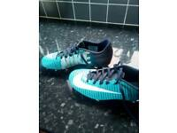 Nike football/rugby boots size 5.5