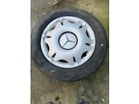 """X2 16"""" steel wheels Mercedes Vito viano spares with tyres"""