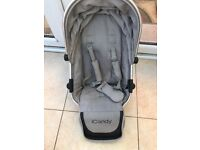 Icandy Peach ( to blossom) lower seat- truffle colour - Ex condition