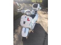 VESPA GTS-125, Prefect for CBT riders, Single owner