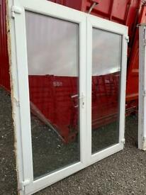 Upvc French doors man cave shed summerhouse home office gym bar hot tub room doors