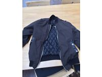 mens bomber jacket size S
