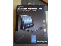 Bluetooth Keyboard Case for New iPad & iPad 2 & iPad