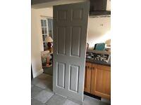 Internal Door, softwood, 6 panel,