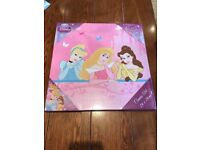 Brand new Disney princess canvas picture