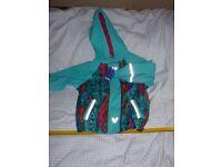 child new waterproof fleece lined jacket aged 2 -4