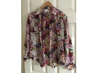 Flowers shirt by H&M