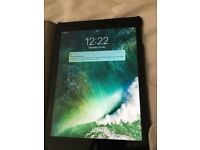 iPad Air 16GB with case and keyboard