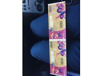 2x tickets T20 blast finals day. Edgbaston. Eric hollies.