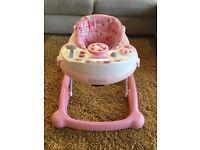 Graco baby walker Pink