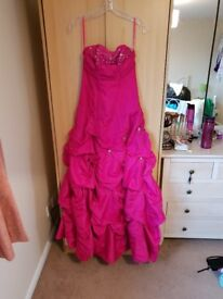 New Pink pageant dress