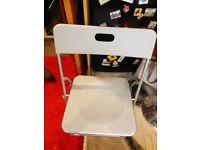 Slimline Folding Chair (Grey)