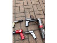 Job lot of air tools