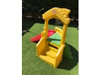 Little Tikes climb and slide garden play set