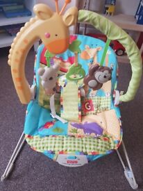 Fisher Price Calming Vibrations Bouncer