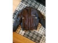 Suzuki motorbike jacket. size xl
