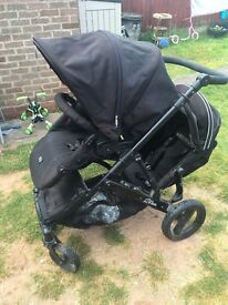 Britax Bduel single/double pushchair