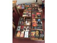 600 paper back books