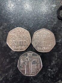 50p coins collective