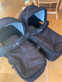 Mountain buggy carrycots x 2