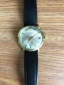 Gents Baume Leather Watch