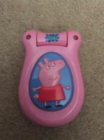 Peppa pig noisy phone