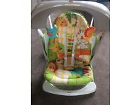 Fisher Price swing and seat only used a couple of times
