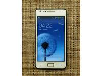 Samsung galaxy S2 Plus White Unlocked Good condition