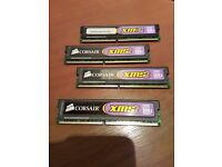 4 x 1GB DDR2 Memory Corsair XMS2