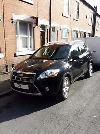 Ford Kuga diesel -only 77k mileage, Titanium mdel, HID Xenons, 2 owners-Twin panoramic roof. px cons