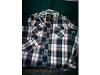 Men's superdry shirt medium very good condition