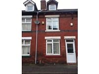 Sutton-in-Ashfield 3 bed terrace 2 reception rooms, combi boiler ch, double glazed kitchen bathroom