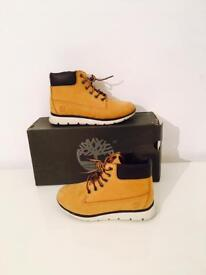 BOYS JUNIOR TIMBERLAND BOOTS SIZE 2