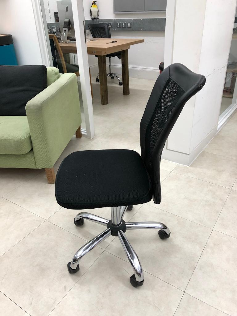 Two black office chairs - £10 each !!!! Buy now