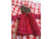 Girls jacket pink 2-3yr