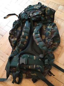 Rucksack - Wynnster camouflage - excellent condition