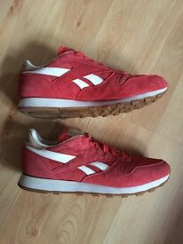 Reebok Classic Leather Suede Trainers UK 6.5
