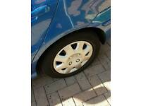 Vw polo steel wheels and trims