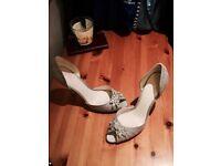 Jenny Packham satin shoes