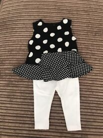 Baby Girls River Island Outfit